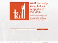 Flavitt - Splash page - Revision 01 - Clean
