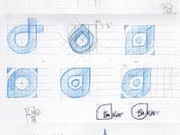 Emnet branding -  Selected Sketches -  2013.03.07