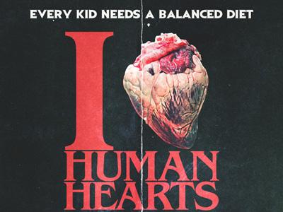 I Heart Human Hearts 80s horror movies movie poster