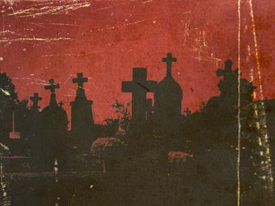 Ghosts in the Graveyard horror halloween graveyard cd cover