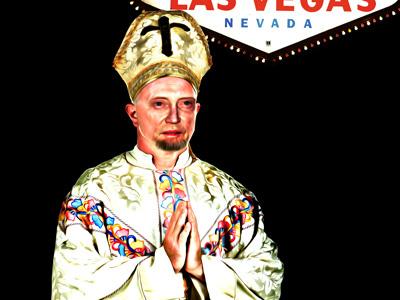 Pope Fiction (Christopher Walken) pope christopher walken