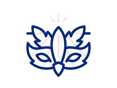 Mardi Gras Bird Mask flying spirit spirit animal outline icons outline masks mask mardi gras mardigras lineart illustration iconset flat icons icon design flat illustration flat icon costume bird animals