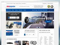 Autoexperten e-commerce site
