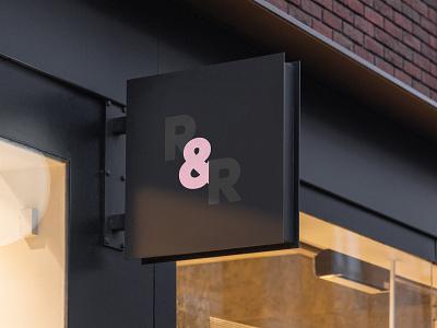 Raw and Rosy Logo Design icon illustration typography vector branding logo skyrocket skyrocket new zealand skyrocket design studio design