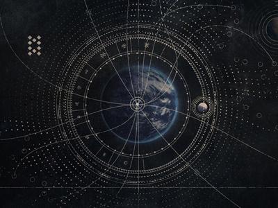Destiny - Starmaps squence graphic design illustration destiny space video game