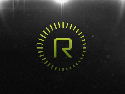 Radius symbol icon logo logotype