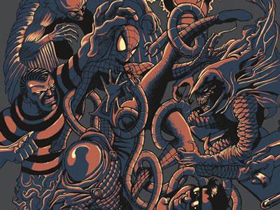 Spidey illustration spiderman