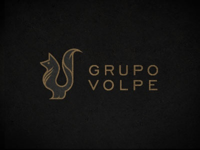 Grupo Volpe logo logotype fox mexico brand marketing mark