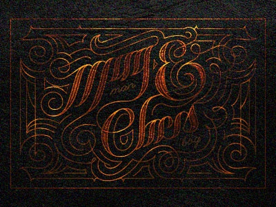 Lettering type typography lettering