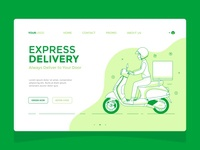 Delivery Guy — Landing Page