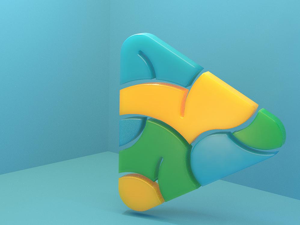 Icon 3D Brain icon branding 3d art brain blender 3d