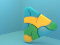 Icon 3D Brain