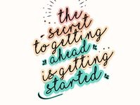 Get Started!! Motivational Monday