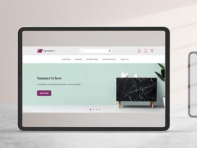 Maynooth Web & App Design adobexd webdesign appdesign uiuxdesigner uiux uiuxdesign