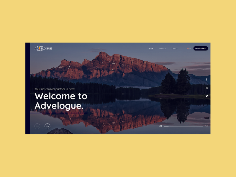 Advelogue Website Interface webdesign figma uiuxdesign uiux uidesigner uidesign