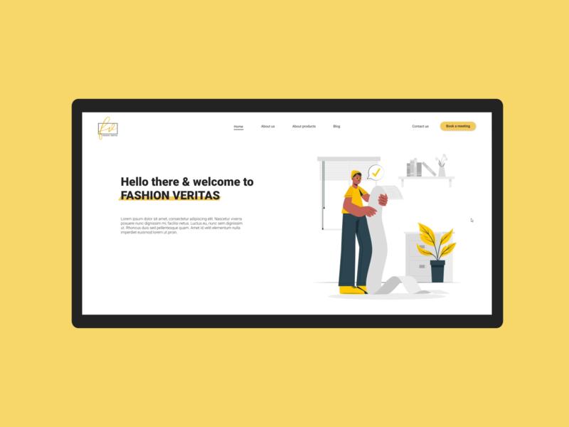 Web presentation webdesign figma uidesigner uidesign design ui