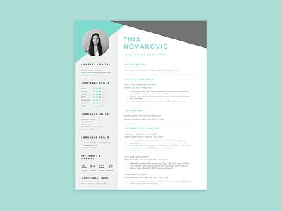 CV Design graphic design job application resume template resume design resume cv design cv template cv