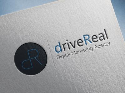 Logo design - driveReal