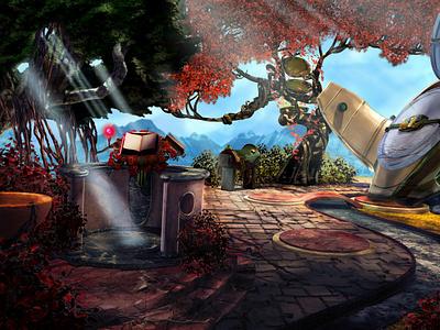 2D Art game art digital art 2d art