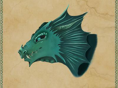 Dragon fantasy art character design dragon digital art 2d art