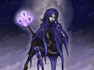Lady of Dreams fantasy art character art character design adobe photoshop digital art 2d art