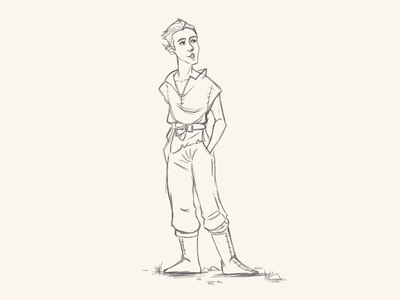 Character Design characterart lineart elf fantasy art character design adobe photoshop digital art 2d art