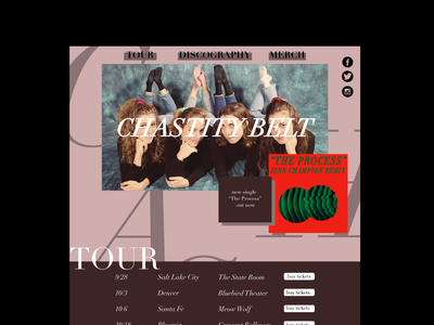 Chastity Belt Web Mockup