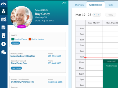 Patient Home Care: Appointments