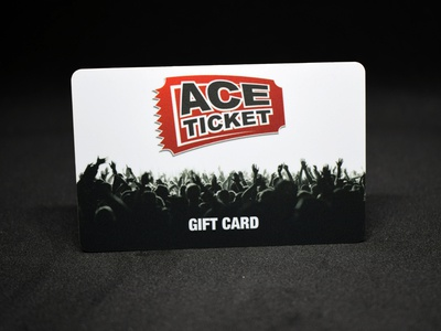 Gift Card graphic design print