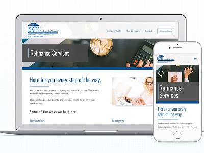 Inner Page Marketing Website design mobile web design website marketing