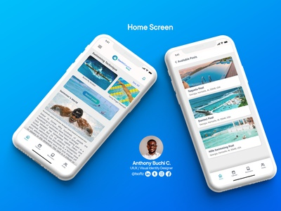 Swimming Pool Booking App application vector logo illustrator illustration branding ui graphic design graphicsdesigns design app design app