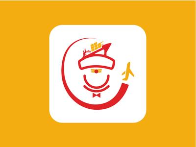 Logo Design for Joshi Food Cargo type art illustrator vector flat branding minimal logo illustration design
