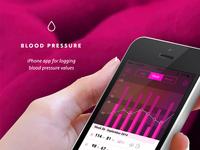 Blood pressure iphone app