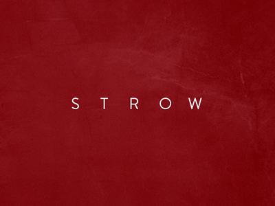 Strow - Logo Design