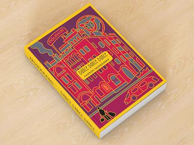 Book Cover - Dance, Dance, Dance - Haruki Murakami clean concept 3d abstract yellow red ui artwork art procreate adobe photoshop adobe illustrator brand identity brand design branding drawing design graphic design illustration illustrator