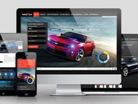 Responsive Car Customization Website