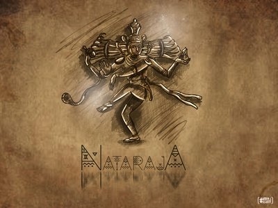 ~~Nataraja~~ brush illustrator artwork graphicdesign designer illustration vector brand branding design