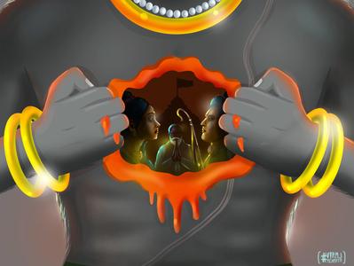 PranaaM brush illustrator artwork graphicdesign illustration designer vector brand branding design
