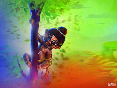 Jai Hanuman digitalart painting sketch drawing godart dribbble invite dribbble artist art artwork logo graphicdesign illustration vector designer brand branding design