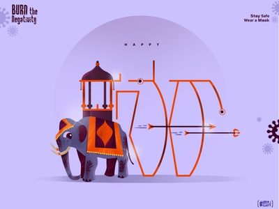 Dasara 2020 icon 2020 photoshop concept art illustrator graphicdesign illustration vector brand branding