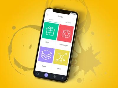 Mobile List UI