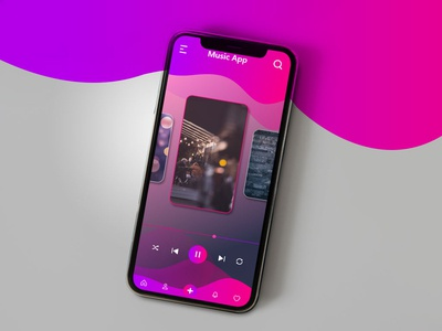 Mobile Music UI
