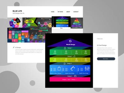 Blue Life Website UI