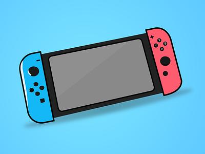 Nintendo illustrator illustration flat minimal vector