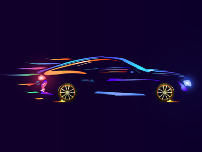 Car illustrator illustration flat vector
