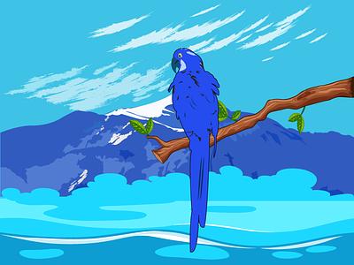 Nature Illustration illustrator illustration minimal flat vector