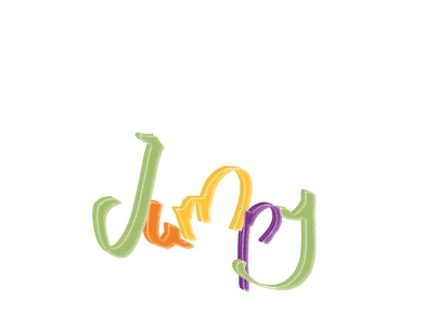jumpy logotype