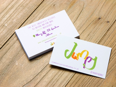 jumpy bussines card example