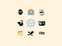 LOGOLOUNGE BOOK 12 // logo design logo