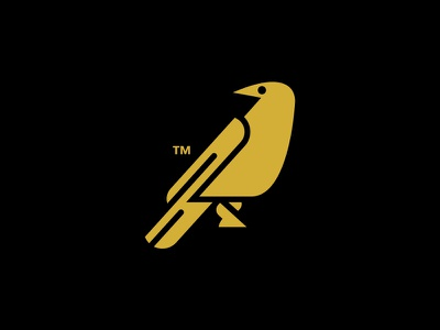 CROW // beltramo bird bltr crow icon illustration logo